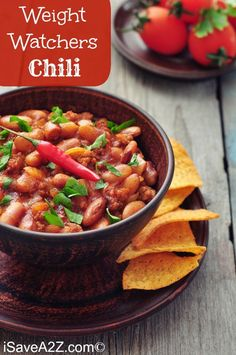 This yummy Weight Watchers Beef and Bean Chili is only 5 points per serving! And since you get 1 heaping cup as a serving, it is worth every point.
