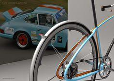 Porsche Bike la bicicleta citadina inspirada en el 911 MX Cycles