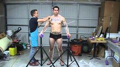 Timelapse: Lifecasting of Daniel Full Body Cast in Plaster Bandages