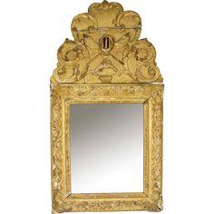 French Louis XV Period Rococo Giltwood Mirror @shoprubylux #EronJohnsonAntiques #LouisXV