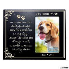 Pet Memorial Frames, Pet Memorial Gifts, 8x10 Picture Frames, Personalized Picture Frames, So Far Away, Sympathy Gifts, Pet Memorials, Custom Framing, Woods