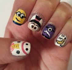 Despicable Me Nails ✌