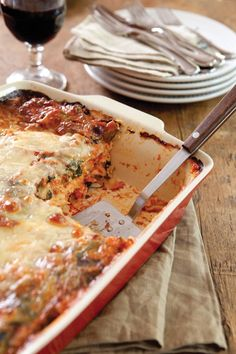 Cheesy Chicken and Vegetable Lasagna