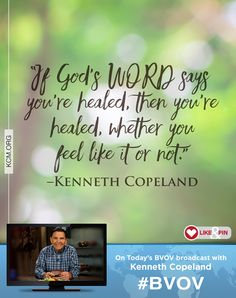 Discover how to speak God's WORD in faith and get the same results He gets. - See more at: http://kcm.org/watch/tv-broadcast/gods-way-the-faith-way#sthash.MJtvhPH4.dpuf