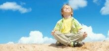 An increasing amount of young children have been showing elevated signs of stress and anxiety. We know meditation is a great tool to find peace and balance amid our hectic lives—that's why we enjoy our practice. How do we get our kids to love meditation, too?
