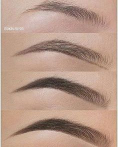 25 Step-by-Step Eyebrows Tutorials to Perfect Your Look 25 Step-by-Step Eyebrows Tutorials to Perfect Your Look ausformung bemalung maquillaje makeup shaping maquillage Eyebrow Makeup Tips, Skin Makeup, Beauty Makeup, Hair Beauty, Makeup Eyebrows, Eyebrow Pencil, Eyebrows With Pencil, Draw On Eyebrows, Makeup Kit