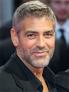 George Clooney.....it's just those lovely sparkly eyes....