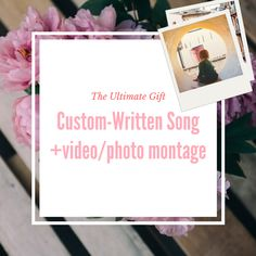 You give us some anecdotes, or quotes from Mom, or things you learned from her, what you admire about her, and we'll write a song for her. We will write, perform and record the song and send it to you on time for Mother's Day in your timezone. Not only will we have a song, but we'll also take your photos, videos, maybe a video wish from you & the family, and make a slide show music video to go along with it. We guarantee you it will bring tears of joy to everyone involved <3