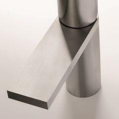 Fantini Waschtischmischer Milano | Franco Sargiani | in progressiver oder traditioneller Ausführung | zwei Oberflächen wählbar