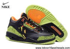 buy popular aa01e 3dea1 Buy Big Discount Air Jordan III 3 Retro Homme Noir Vert Orange from  Reliable Big Discount Air Jordan III 3 Retro Homme Noir Vert Orange  suppliers.