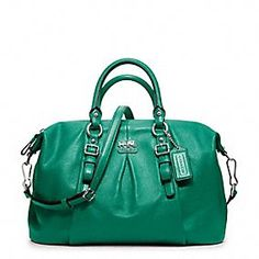 The fact that this is from the Madison line only adds to my LOVE for this bag.    Madison Leather Juliette