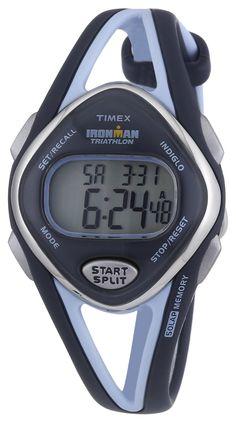 #Cheap #Watch , Timex Women's T5K038 Ironman Sleek 50-Lap Navy Resin Strap Watch...$41.99