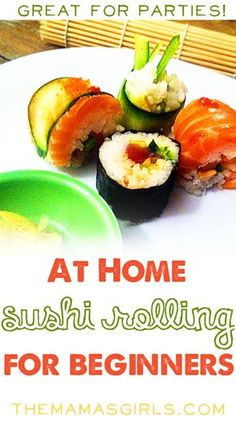Roll your own sushi at home - so easy even I can do it! Photo Tutorial