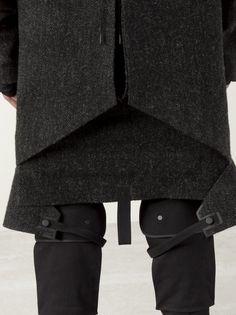 AITOR THROUP Mongolia Riding Tweed Jacket Detailing