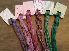 Lilac Tree  Lot of Overdyed Floss - Natural Dyes  Lot 66 - Wholesale Pricing #QueenCityDyeCompany