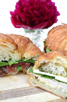 Fancy Croissant Sandwiches
