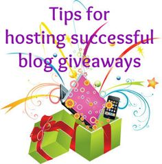 Tips for a blog giveaway