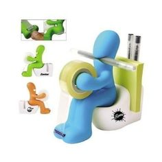 Tape Dispenser Pen Memo Holder Clip Storage - great gift for your tween's desk!