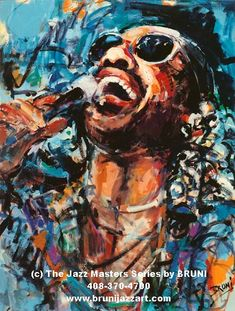 stevie wonder artwork, BRUNI Gallery