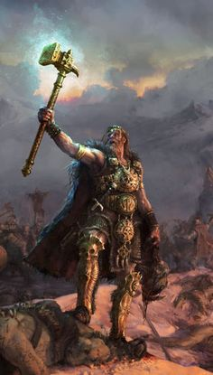 Sigmar Heldenhammer, the God-King of all Mankind
