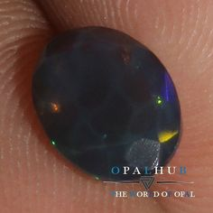 6x8 MM Natural Ethiopian Welo Fire Black Opal Faceted Cut Gemstone Play  839H