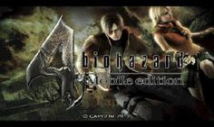 BioHazard 4 Mobile Resident Evil 4 apk download - Mod Apk Free Download For Android Mobile Games Hack OBB Full Version Hd App Money mob.org apkmania