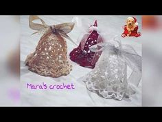 Campanella di Natale all'uncinetto - YouTube Christmas Afghan, Christmas Art, Christmas Bulbs, Christmas Gifts, Christmas Decorations, Holiday Decor, Crochet Crafts, Free Crochet, Holidays And Events