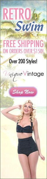 Shop Retro Swimwear at Unique-Vintage and get FREE SHIPPING on orders over $150! Click Here