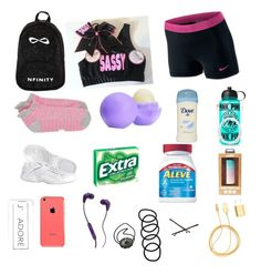 A fashion look from July 2015 featuring neon pink sports bra, NIKE and Sweaty Betty. Browse and shop related looks. Cheer Practice Outfits, Cheer Outfits, Cheerleading Outfits, Girl Outfits, Cheerleading Makeup, Competitive Cheerleading, Cheer Tryouts, Cheer Coaches, Cheer Mom
