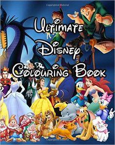 Ultimate Disney Colouring Book: Amazon.co.uk: Mr Super Disney Collector: 9781537098685: Books