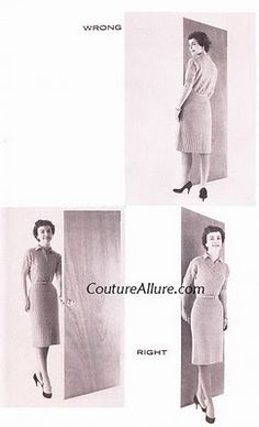 Couture Allure Vintage Fashion: Friday Charm School - How to Enter and Leave a Room Like a Lady She's A Lady, Act Like A Lady, Ettiquette For A Lady, Etiquette And Manners, Table Etiquette, Lady Rules, Good Manners, Finishing School, Classy Women