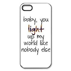 One-Direction-Quotes-For-iPhone-4-4S-5-5G-5S-5C-Case-Hard-Plastic-Back-Cover