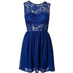 Lacy Tease Dress - Society of Chic (£47)