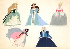 Cinderella concept art by Mary Blair