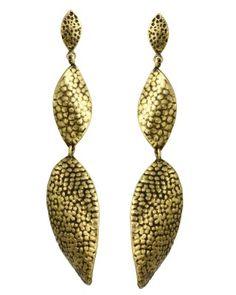 Brass Tilly Earrings | Kendra Scott