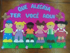 Cartaz Escolar Bem-Vindos