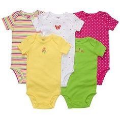 "Carter's 5 pack of ""I Love Mommy"" Bodysuits"
