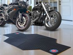 "Chicago Cubs Motorcycle Mat 82.5"" L x 42"" W"