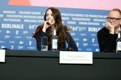 #StacyMartin #Nymphomaniac Stacy Martin on the 'Nymphomaniac Volume I' press-conference during 64th Berlinale International Film Festival on February 9, 2014 in Berlin, Germany #VivaconAgua