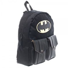 fab07bfca8 Buy DC Comics Batman Logo Reversible Backpack Sublimated Bookbag Comic Book  Print online