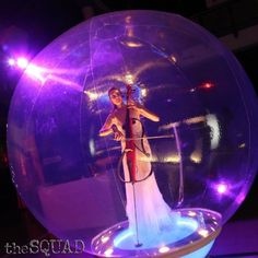 Beautiful music - from inside a beautiful bubble. Thinking outside the box!