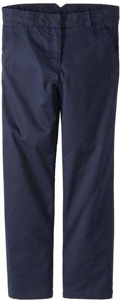 d072a05afc0 Dockers Big Girls  Plus-Size Twill Straight Leg Pant
