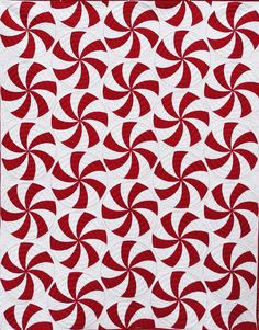 Here's one more quilt from last year...a Christmasy quilt! Yes, I know Christmas was almost 2 months ago, but since it is red and white...