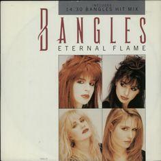 "Single ""Eternal Flame / Bangles Hit Mix"" 1989 (UK)"