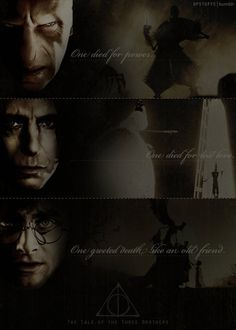 The Deathly Hallows: Harry Potter, Severus Snape, and Lord Voldemort