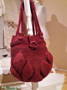 Női táska 3D mintával (csipkeorszag) - Meska.hu