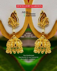 Gold Mangalsutra Designs, Gold Earrings Designs, Gold Jewellery Design, Necklace Designs, Gold Rings Jewelry, Jewelery, Gold Jhumka Earrings, Bridal Necklace, Stone Necklace