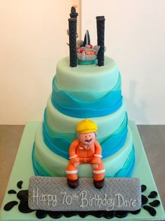 Oilfield wedding cakes