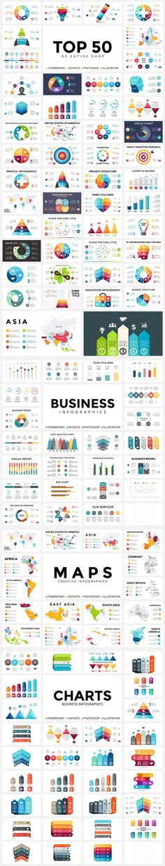 700 Infographic Templates - Design Cuts Design Cuts