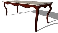 "3D Model of Table ""Versailles"""